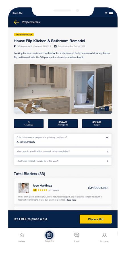 how to bid remodeling jobs